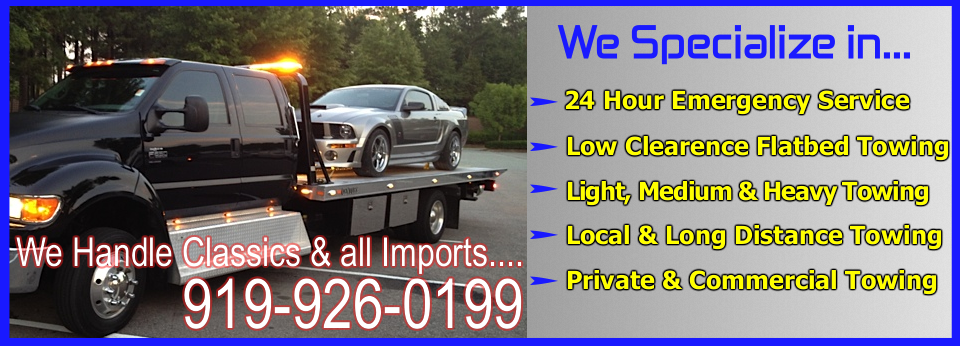 Durham 24 Hour Towing