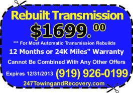 Durham Transmission Repair